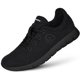 Giesswein Merino Wool Runners Heren, black